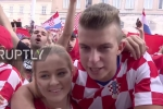 Clip: Tuyển nhà thua kịch tính, fan Croatia vẫn ăn mừng vì hành trình phi thường