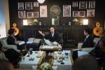 Ông chủ cà phê Trung Nguyên Đặng Lê Nguyên Vũ ngồi thiền, hút cigar gần 3 tiếng gặp gỡ báo chí