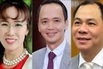 Top 10 người giàu nhất sàn chứng khoán Việt Nam