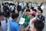 Tuyển sinh lớp 10 tại Hà Nội: Thí sinh rạng rỡ sau môn Toán tại trường Amsterdam