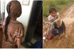 Xót xa cảnh học sinh đầu tóc lấm lem, lội bùn đến trường ở Đắk Lắk