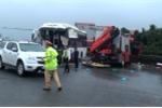 Xe khách tông xe cứu hỏa trên cao tốc Pháp Vân – Cầu Giẽ, nhiều người thương nặng