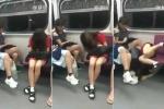 Clip: Thiếu nữ ngủ gật trên tàu điện ngầm và cái kết đắng