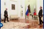 Video: Tổng thống Putin trổ tài tâng bóng cùng chủ tịch FIFA