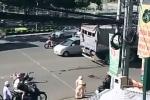 Xe tải va chạm xe máy, mẹ và con gái mang bầu chết thương tâm