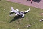 Máy bay chở quan chức Sudan bị rơi, ít nhất 5 người thiệt mạng