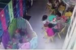 Bảo mẫu tát bé gái ngã dúi dụi ở TP.HCM: Đình chỉ lớp mẫu giáo tư thục