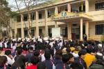 Không muốn chuyển sang trường mới, hàng trăm học sinh ở Quảng Ninh đồng loạt bỏ học