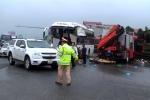 Xe khách tông xe cứu hỏa trên cao tốc: Phó thủ tướng yêu cầu điều tra