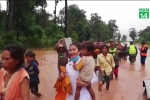 Toàn cảnh hàng trăm người mất tích do vỡ đập thủy điện tại Lào