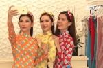 Áo dài Cô Ba: Xu hướng thời trang Tết 2018