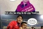 Anh che cau thu tuyen Viet Nam theo trend cau noi trong MV cua Huong Giang Idol hinh anh 2