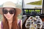 Sao nữ 'Trái tim mùa thu' được chào đón khi khoe ảnh ở Đà Nẵng