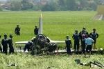 Video hiện trường máy bay quân sự rơi ở Phú Yên