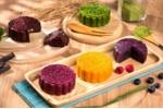 Cách làm bánh trung thu ngũ sắc sặc sỡ, không dùng phẩm màu