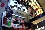 Clip: Cặp vợ chồng dẫn con nhỏ đi trộm iPhone trong cửa hàng