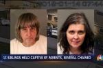 Clip: Cặp vợ chồng giam cầm 13 đứa con chấn động nước Mỹ