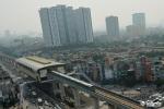 Anh: Tau duong sat tren cao Cat Linh - Ha Dong chay thu tren pho Ha Noi hinh anh 13