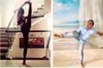 Bat chuoc vo tap yoga, MC Quyen Linh nhan cai ket dang hinh anh 1