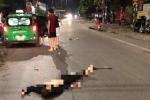 Xe máy kẹp 5 lao vào dải phân cách ở Thái Nguyên: Xác định danh tính 4 người chết