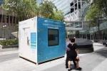 Video: Singapore ra mắt 'cỗ máy' biến khói thuốc lá thành không khí sạch