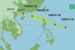Siêu bão MANGKHUT áp sát Biển Đông: Diễn biến mới nhất