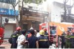 Cháy lớn tại nhà hàng cạnh phố đi bộ Nguyễn Huệ ở TP.HCM