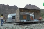 Dịch vụ cắm trại xa hoa trên sa mạc Dubai
