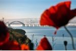 Video, ảnh: Khoảnh khắc tuyệt đẹp quá trình xây dựng cầu dài nhất châu Âu