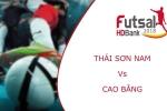 Trực tiếp Futsal HDBank VĐQG 2018: Thái Sơn Nam vs Cao Bằng
