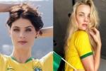 Dàn mẫu xinh đẹp, nổi tiếng cổ vũ Brazil tại World Cup 2018