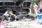 Xe tải lật đè chết người đứng xem tai nạn giao thông ở Hải Dương: Lái xe không làm chủ tốc độ