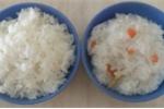 Mách mẹ cách nấu 2 trong 1, vừa có cơm, vừa có cháo ăn dặm thơm ngon cho con