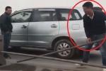 Tài xế ô tô tháo dải phân cách trên cầu Thanh Trì để trốn CSGT: Ủy ban ATGT Quốc gia yêu cầu xử nghiêm