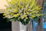 Những lẵng hoa có giá gần trăm triệu đồng dịp 20/10