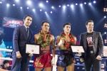 'Doc co cau bai' Nguyen Tran Duy Nhat thang giai Muay Thai Championship 2018 hinh anh 2