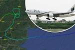 Chiến cơ đuổi theo máy bay chở khách bắt tội phạm truy nã