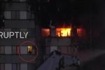 Cháy chung cư 27 tầng ở London: Cận cảnh nạn nhân bị mắc kẹt giữa biển lửa