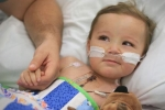 Thán phục trước nghị lực của cậu bé sinh ra chỉ có nửa trái tim
