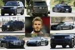 Ảnh: Ngắm dàn xe đẹp mê li của David Beckham