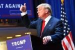 Ông Trump bất ngờ vượt lên dẫn trước bà Clinton