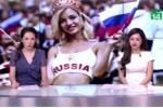 Nữ cổ động viên quyến rũ nhất World Cup phủ nhận đóng phim khiêu dâm