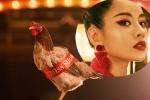 Bị chê 'hát như gà gáy', Chi Pu đưa luôn hình ảnh con gà vào MV mới