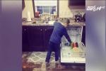 Mẹ đơn thân dạy con trai 6 tuổi làm việc nhà để sau này giúp vợ