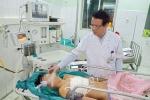 Ngã đập ngực vào vỉa ba toa, bé trai 12 tuổi bị đứt động mạch phổi