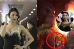 Cháy lớn lễ ra mắt 'Kong: Skull Island': Lan Khuê lo lắng vì Hà Anh còn trên sân khấu làm MC