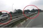 Clip: Hàng loạt ôtô đi lùi trên cao tốc Long Thành - Dầu Giây