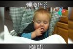 Phì cười những khoảnh khắc ngủ gật siêu dễ thương của trẻ con