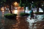 Bão số 3 đi qua, Thủ đô vẫn chìm trong biển nước