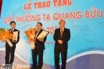 Trao giải thưởng Tạ Quang Bửu cho 2 nhà khoa học
